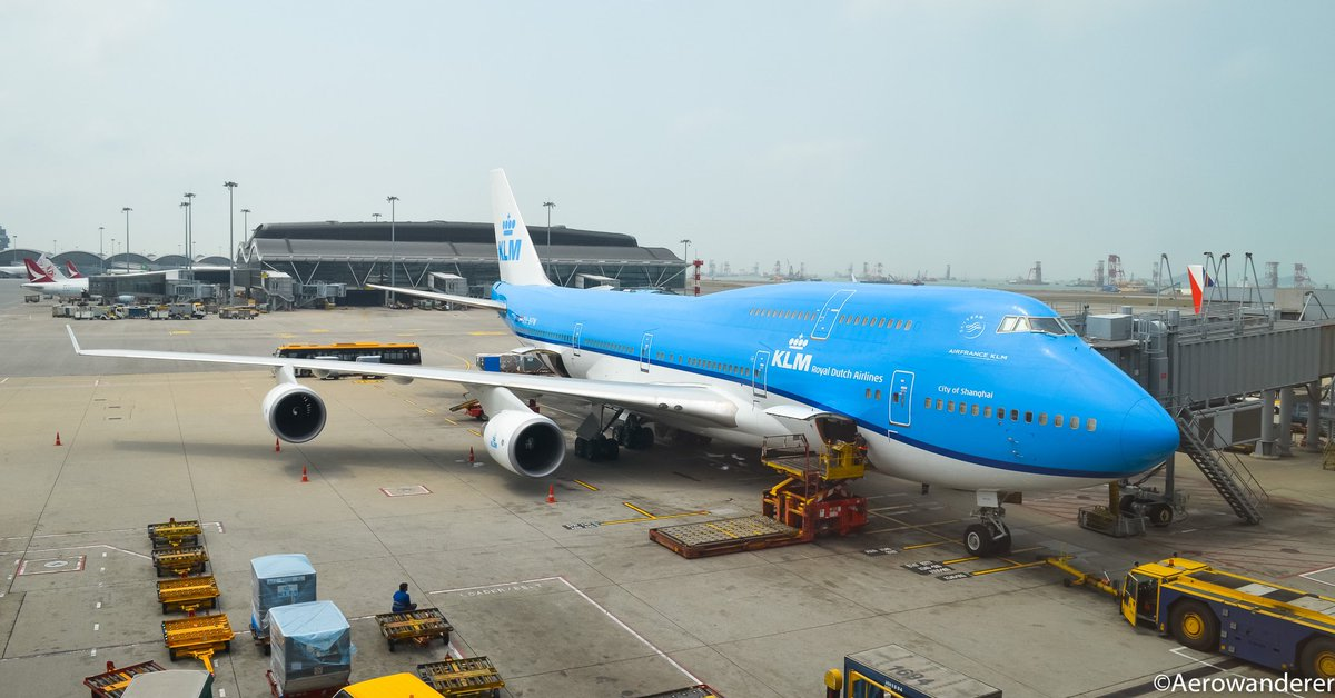 @KLM operated its last @Boeing B747-400 flight from Shanghai to @Schiphol as KL896 using its aircraft registered as PH-BFW. Ironically this was the same aircraft I captured a couple of years back in #HongKong. #aerowanderer #aviation #avgeek #klm #planespotting #boeing #b747 https://t.co/WaNcgkYLWf