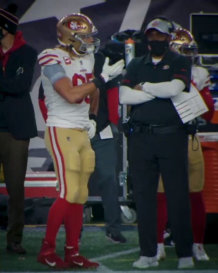 What's better than your boss letting you go home from work early 😅  @gkittle46 #NationalTightEndsDay