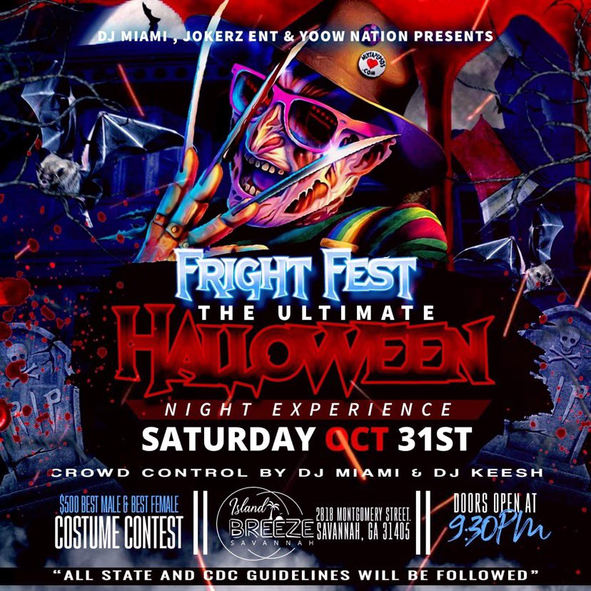 HALLOWEEN IS ON A SATURDAY THIS YEAR SO YOU KNOW WE HAD TO GO BIG🔥‼️   @CallHimMiami & @KeeshGotHits ON CROWD CONTROL!   DOORS OPEN AT 9:30 ⏰  #SouthernNotState #GSU #SSU https://t.co/O5cqQ7tR7B