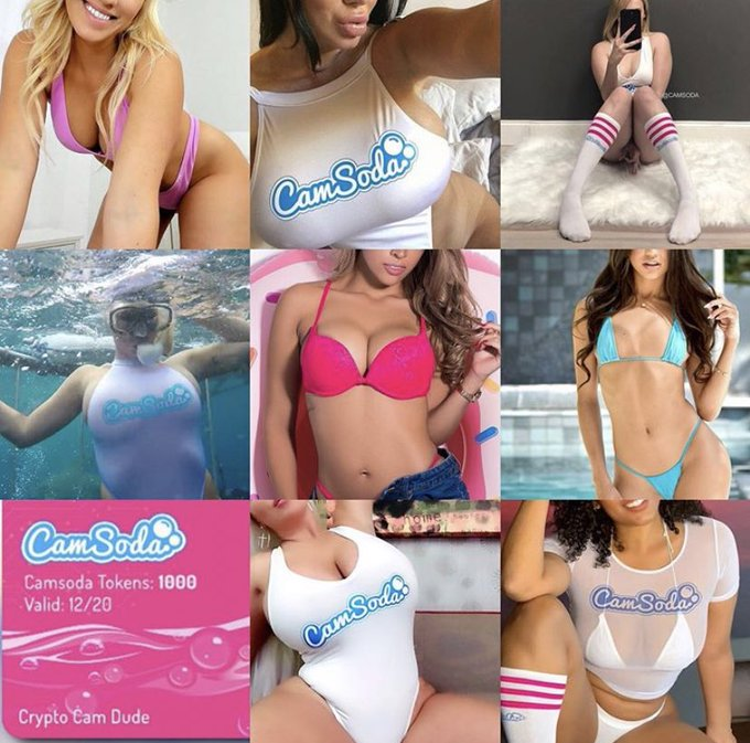 💻 Get your @CamSodaLive fix! Keep an eye on the loveliest live-streamers, 📆 be the first to know about