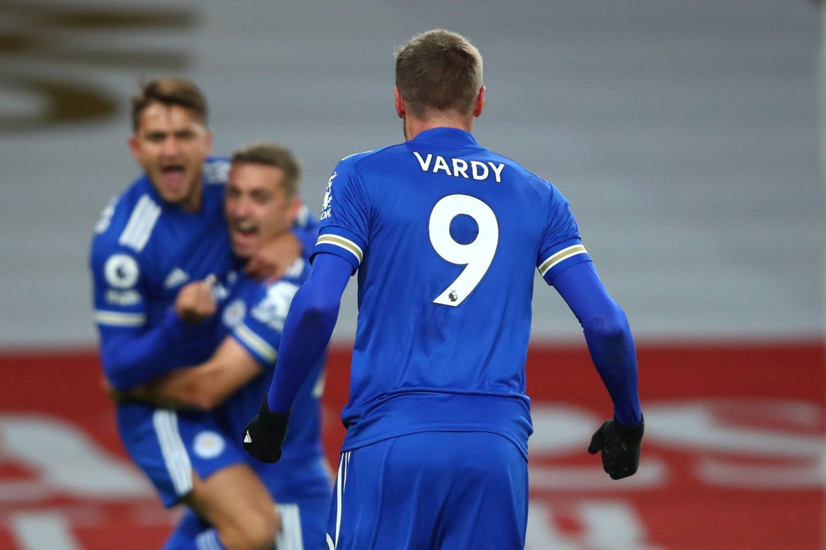 24% of Jamie Vardy's 🏴 PL goals have come vs Arsenal, Liverpool or Man City. 🤯 [@oilysailor] #ARSLEI #LCFC #LFC #MCFC https://t.co/TNSPOFWAzH