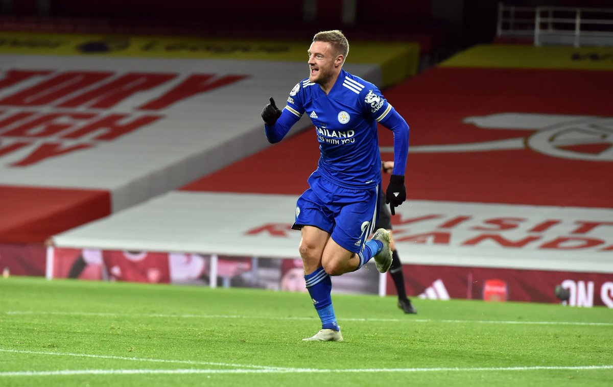 Jamie Vardy 🆚  'Big Six': . ⚽️⚽️⚽️⚽️⚽️⚽️⚽️⚽️⚽️⚽️⚽️ vs Arsenal ⚽️⚽️⚽️⚽️⚽️⚽️⚽️⚽️⚽️ vs Man City ⚽️⚽️⚽️⚽️⚽️⚽️⚽️ vs Liverpool ⚽️⚽️⚽️⚽️⚽️ vs Spurs ⚽️⚽️⚽️⚽️⚽️ vs Man Utd ⚽️⚽️⚽️⚽️ vs Chelsea . Arsenal kwake ni walaini tu 😜 . #sokaonlineupdates https://t.co/28BK4ocil7