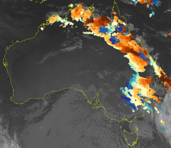 An electrifying ⚡weekend across #Aus with more than 2.24 million #lightning strikes registered across the country over the past 48 hrs!  Most of the lightning occurred over #Qld, #NSW and #NT, with more storms on the way this week. https://t.co/tElVkfRV6b