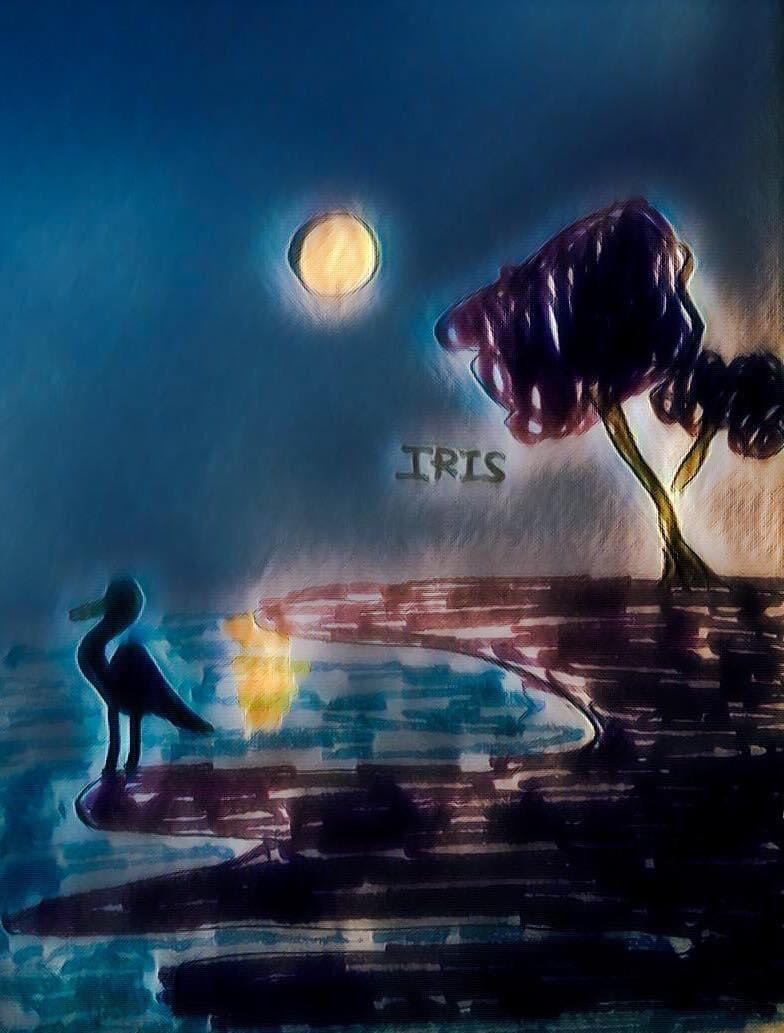 Reflections of Moon 🌙 painted by @IRISUNART #irisunart #art #artistic #artist #arte #artsy #arts #painting #paintings #paint #watercolor #watercolors #instartist #instalove #instalike #galleryart #onlinegallery #fineart https://t.co/UTtlLIVTiM