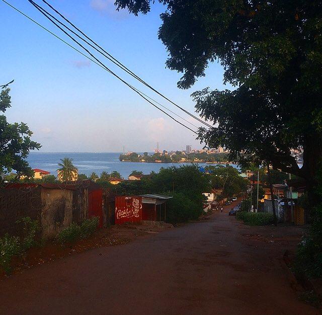 I chose a different exercise route today.  #MurrayTown #SierraLeone #Freetown #JustMove #SaloneTwitter https://t.co/DY1av1ScvE