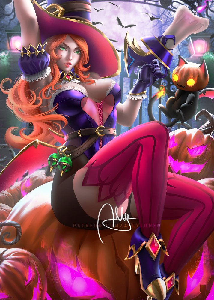 Bewitching Miss Fortune Alternative version :)  #bewitching #bewitchingmissfortune #missfortune #leagueoflegends #drawing #draw #drawings #painting #paint #art #artwork #artist #digitalart #games #gamers #sketch #illustration #photoshop #characterdesign #conceptart #gunner https://t.co/kz4cMFcODA