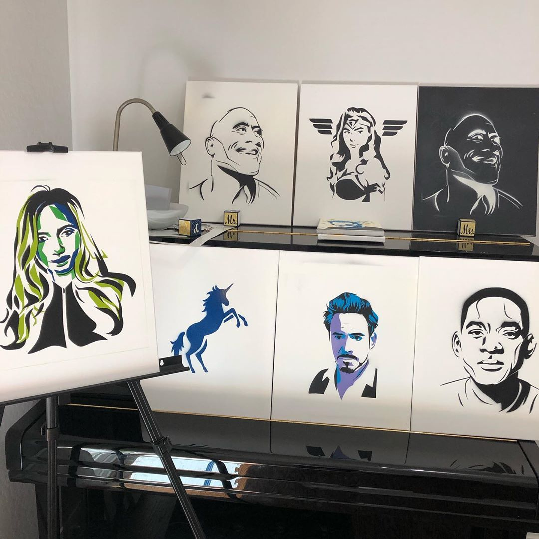 Wall art waiting for a home Follow 👉@murraynewlands for more 💕  👇 https://t.co/p0iO88YpFn  #art #artist #artistic #artwork #illustration #graphicdesign #color #bestartfeatures #painting #watercolor #ink #creative #sketch #sketchoftheday #pencil #wallart https://t.co/uwf6EYJl8R
