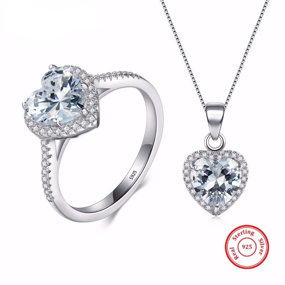 #girl #shoes Fashion Women's 925 Sterling Silver Jewelry Set https://t.co/yr160Vc9X0