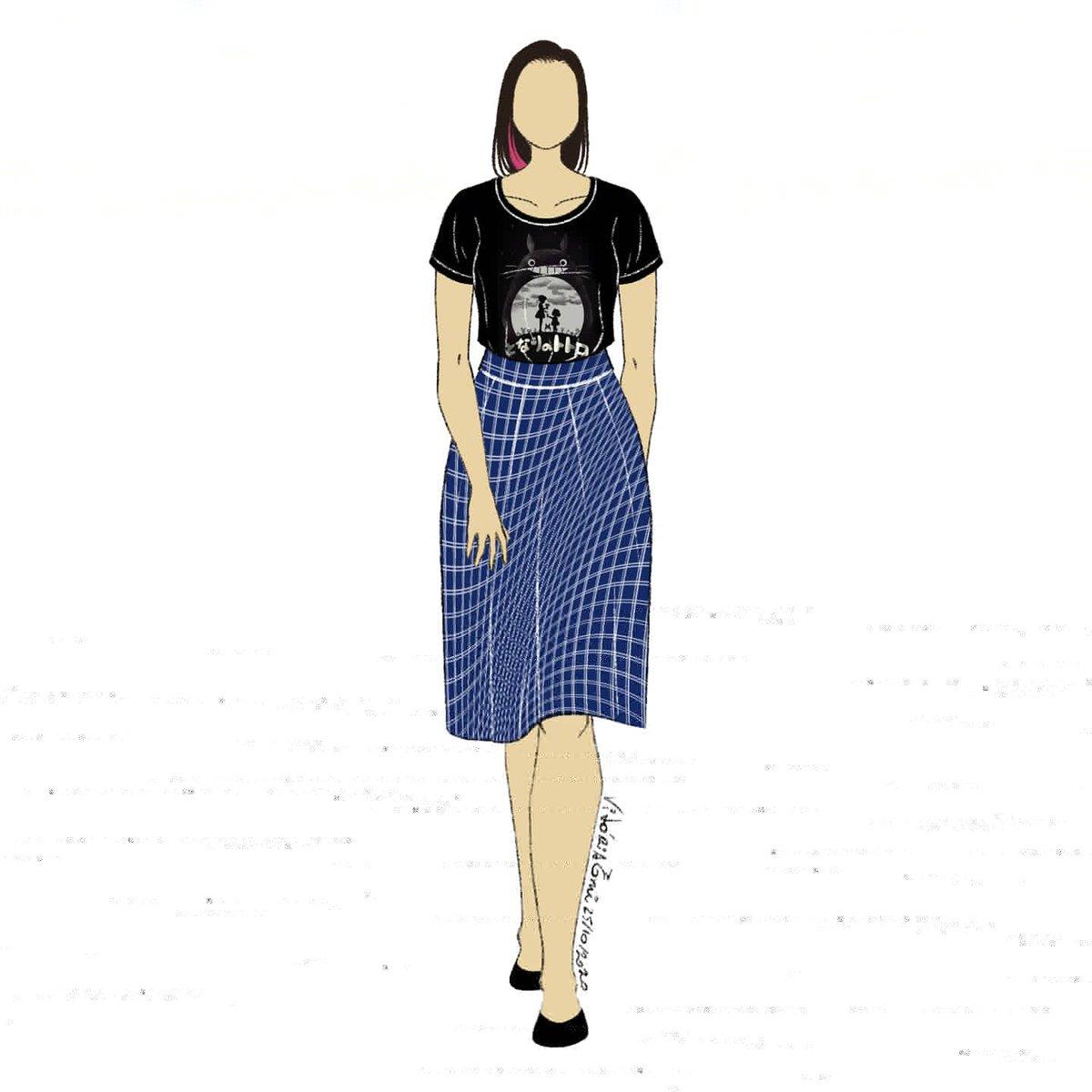 Tenho várias coisas de Totoro  #fashioninktober #day25 #dia25 #croquis #fashion #moda #desenho #sketch https://t.co/xM7eQnK53q
