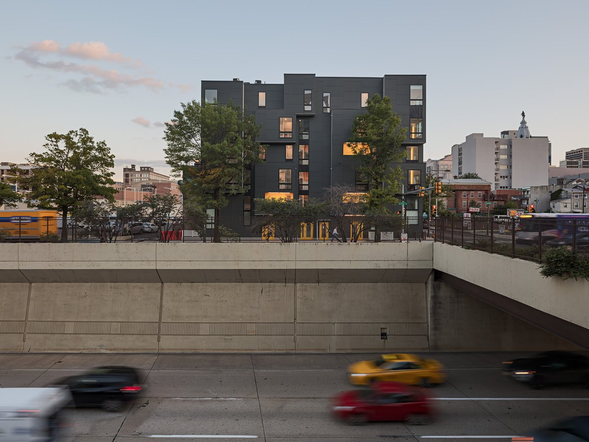 This modern apartment #building takes up a prominent role in the appeal of its neighborhood. #archilovers  https://t.co/ZjnumkYIak https://t.co/5LGqZdVHI9