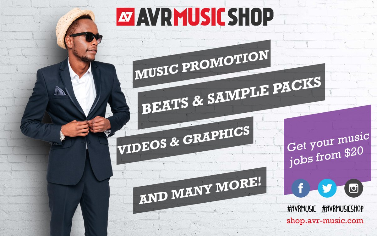 Who sells #mixandmaster, #drumkits or #musicpromo? Tag them... we're looking for the best on #avrmusicshop ... its free! https://t.co/TAHj8l0QOK https://t.co/bLuTlpgVfm