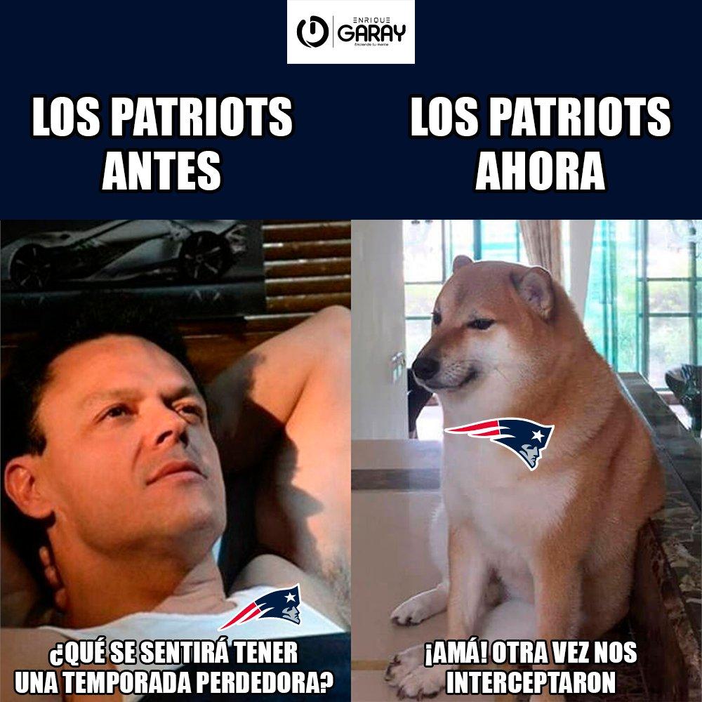 RT @quiquegaray: 😔 Ahorita no me hablen, amigos 😪  #Meme #GoPats #NFL https://t.co/tAt6PKgcct