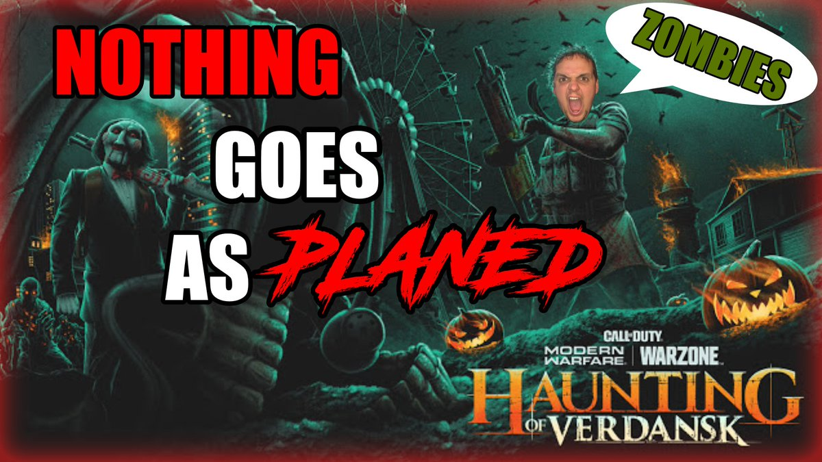 HAUNTING IN VERDANSK!!!! Is So GOOD!! Check Out The Video... I Know You Are Bored .   https://t.co/IklG8dqItK  .  #CallOfDuty #CallofDutyModernWarfare #Warzone #ContentCreator #twitch #twitchstreamer #SmallStreamersConnect #SmallStreamerCommunity #Xbox #Halloween #gamingcommunity https://t.co/Op3D754lV4