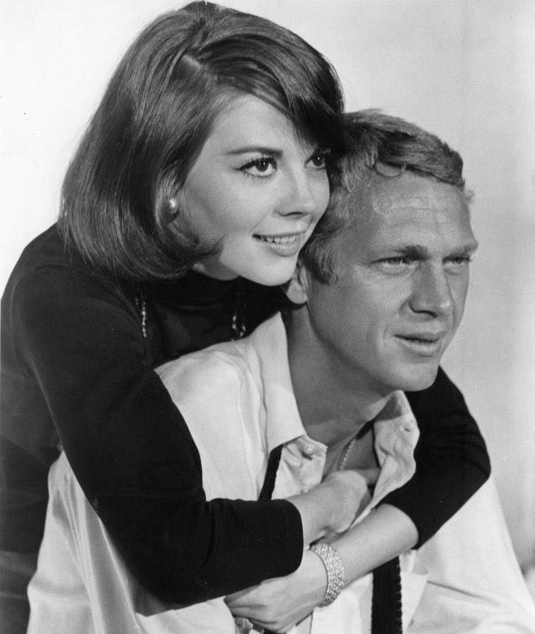 """Natalie Wood and Steve McQueen, Love with a Proper Stranger (1963).   Natalie Wood called working on this film """"...the most rewarding experience I had in all films, all the way around."""" https://t.co/rERlRHeNvq"""
