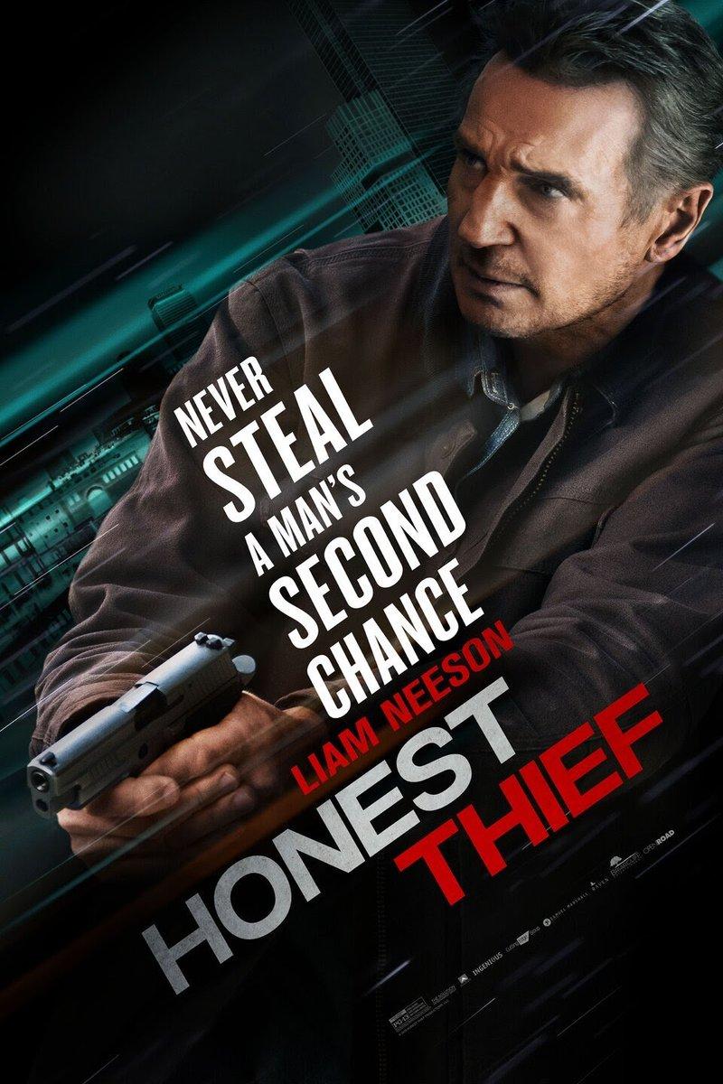 🎦『Honest Thief (2020)』🇺🇸 監督:Mark Williams  リーアム兄さんの日常 一人の女性に出会い改心し 過去の犯罪を償おうとした所 FBIに仕組まれ犯罪者に仕立てられていく... payback timeの鮮やかさ 🔫💣⛪️💵🏎️🏥 アクション映画引退宣言撤廃第1作目 似たプロット: Non-Stop (2014) Taken 3 (2015) https://t.co/ghsxIOqh5x