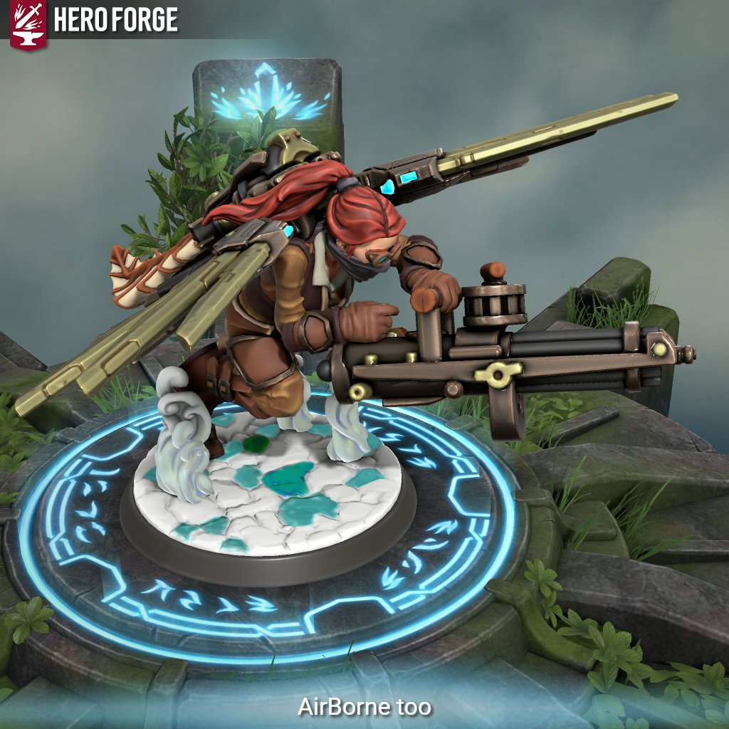 #Geek 🤓 Awesome of the Day ⭐ ➡️ #Steampunk⚙️ #Dieselpunk Character in #HeroForge #Videogame 🎮 By @HeroForgeMinis via @KitsuneCreatio1 #SamaGames 🕹️ #SamaGeek 🧐 ➡️ More info https://t.co/U6uHMhN0Hn ➡️ View More #SamaCollection 👉 https://t.co/Kugls3IJqU