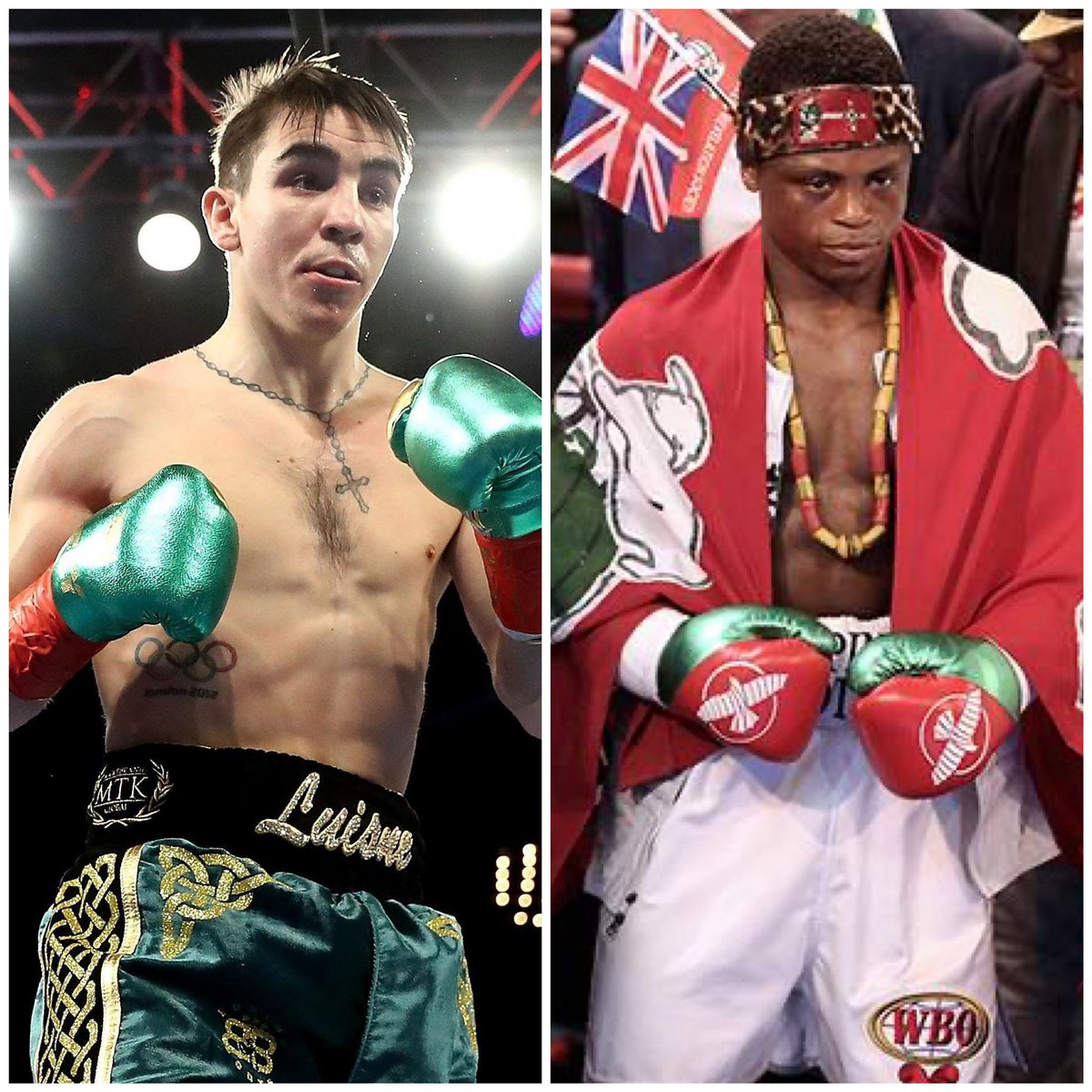 In a Great step up test undefeated Olympian Michael Conlan 14-0-8 KO's will take on Former World Champion Isaac Dogboe 21-2-15 KO's on Tyson Fury's undercard In London December 5th #fighthooknews #jcalderonboxingtalk #toprankboxing #espnboxing @trboxing @ESPNRingside https://t.co/4dsid48DmK