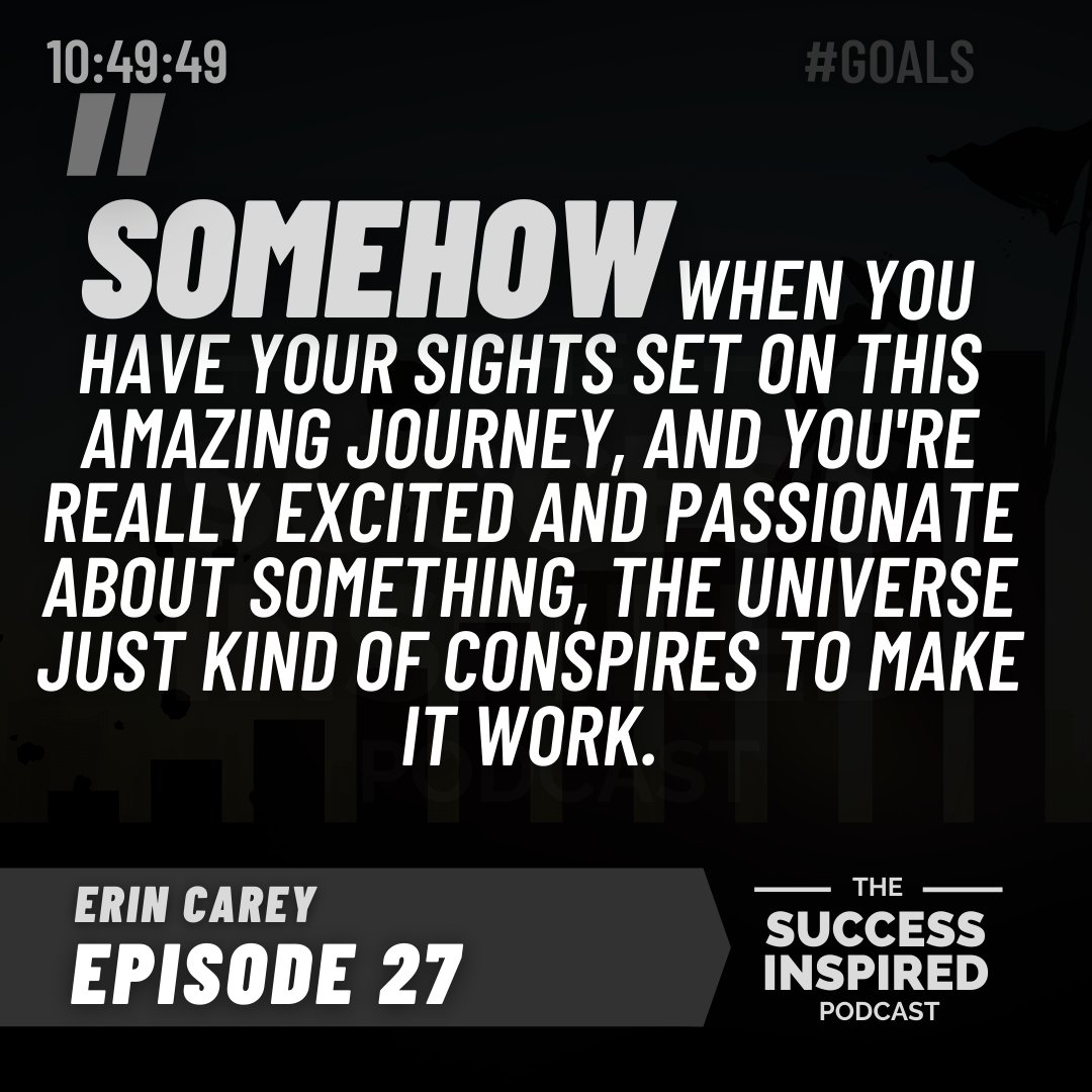 Episode 27- How to quit your 9-5 and start living more fulfilling freedom lifestyle  with @thatvitmuller  and Erin Carey from @roamgeneration 🔥 Available now on https://t.co/ncMlKfLFdq  #successinspiredpodcast #success #inspired #podcast #podcasting #husbandwife #team https://t.co/Uj2mAx17oy