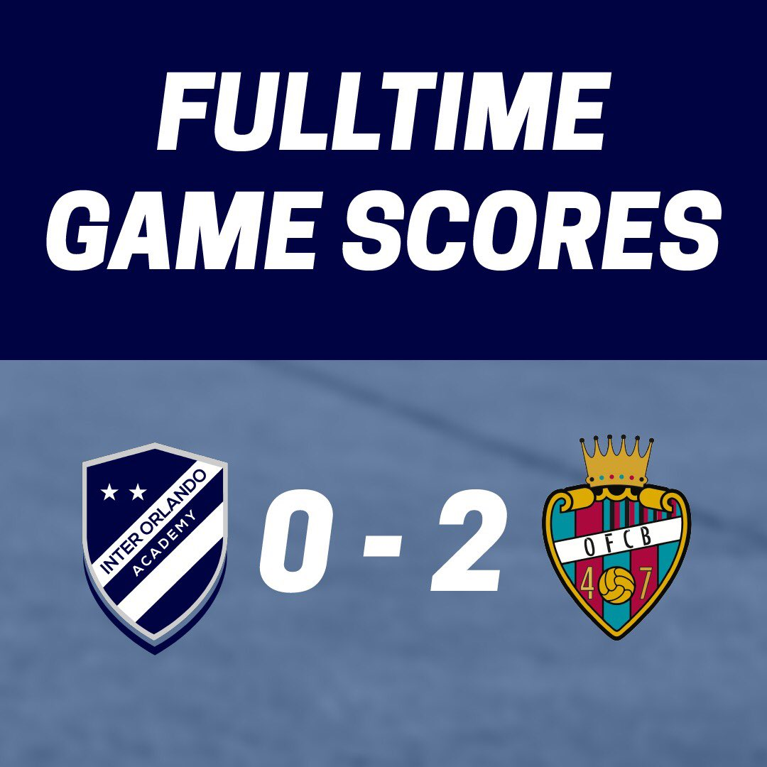 Both teams put up a great fight, here are the final scores 💯  #interorlando #mls #upsl https://t.co/zBJiEVbW8O