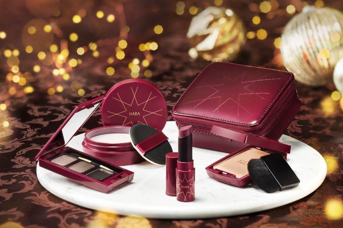 """[明日発売] ハーバー2020年クリスマスコフレ、""""フランボワーズチョコ""""色リップ&ショコラ色アイシャドウ -"""
