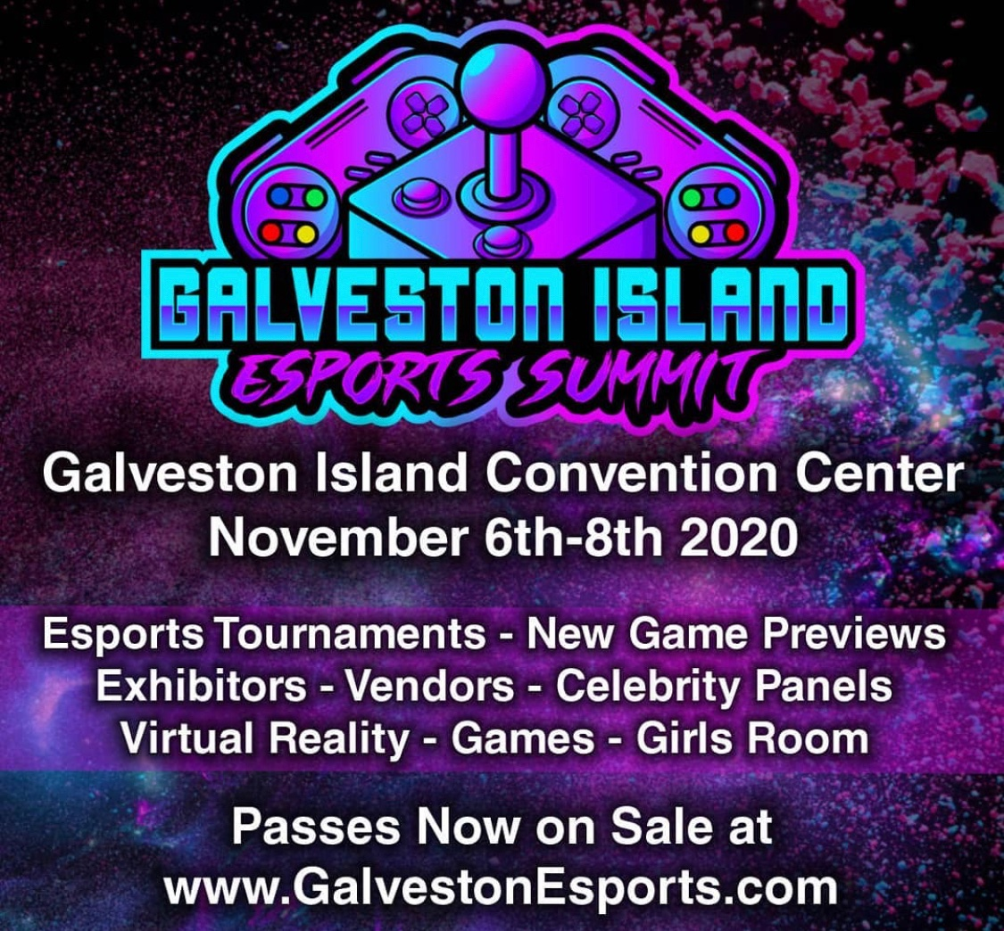 I have LOVED doing all the virtual cons this year, but I'm THRILLED at the chance to go to a live one!  I'll be at @GalvestonEsport Next weekend, talking #HungryTrilobyte, #gaming , #podcasting, and chicken wings! All #COVID19 precautions will be taken, I promise. https://t.co/05HkXAs5la