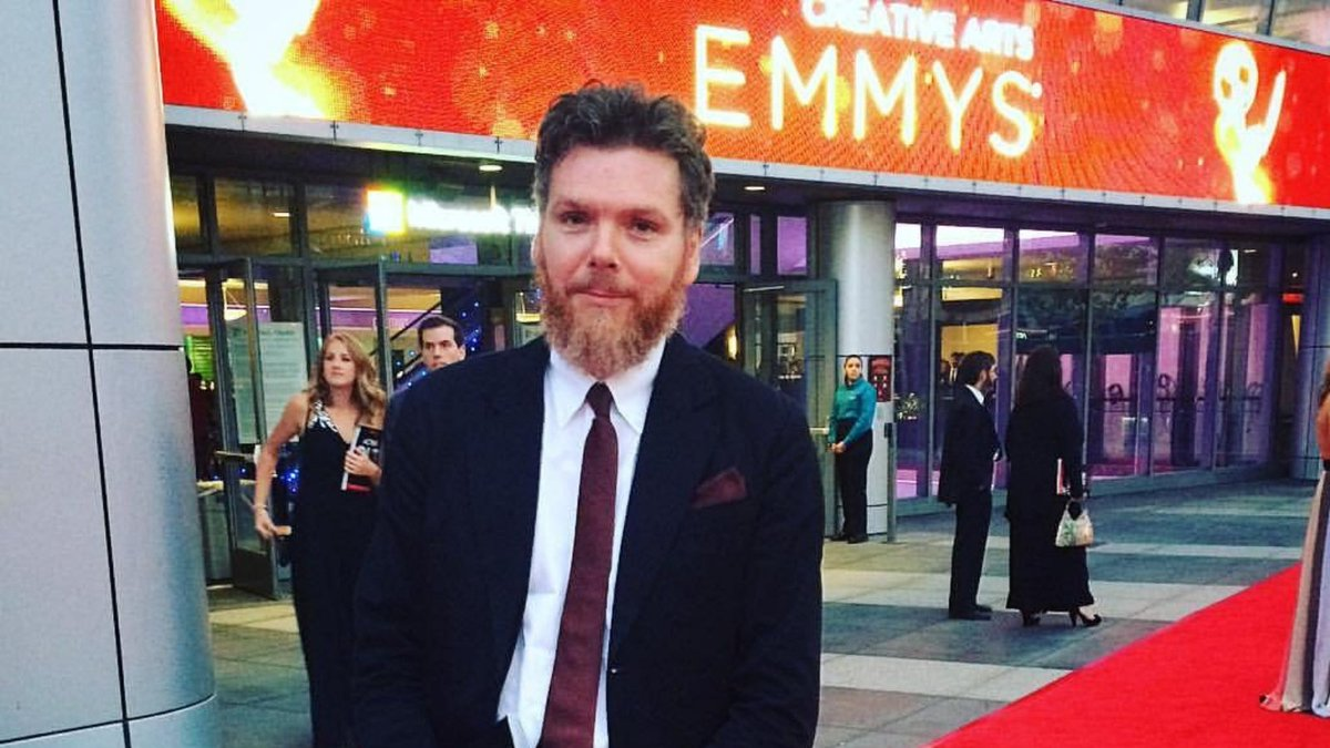 Please join us in congratulating a member of our Scottish-Canadian community on an incredible achievement! Jim Maxwell recently won an Emmy Award in the Best Visual Effects category for his work on the hit TV series 'Vikings'.  Way to go, Jim!   #Vikings #Emmys @1jcmaxwell https://t.co/7CMQWIkQOI