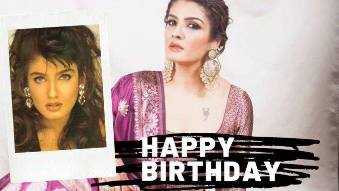 Happy Birthday to Raveena Tandon