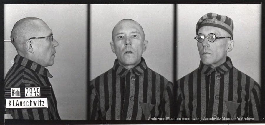 26 October 1892   Pole Zygmunt Surewicz was born in Dobrzyniewo. A lawyer.  In #Auschwitz from 15 August 1940. No. 2949 He perished in the camp on 23 March 1942. https://t.co/IZND8BLVEJ
