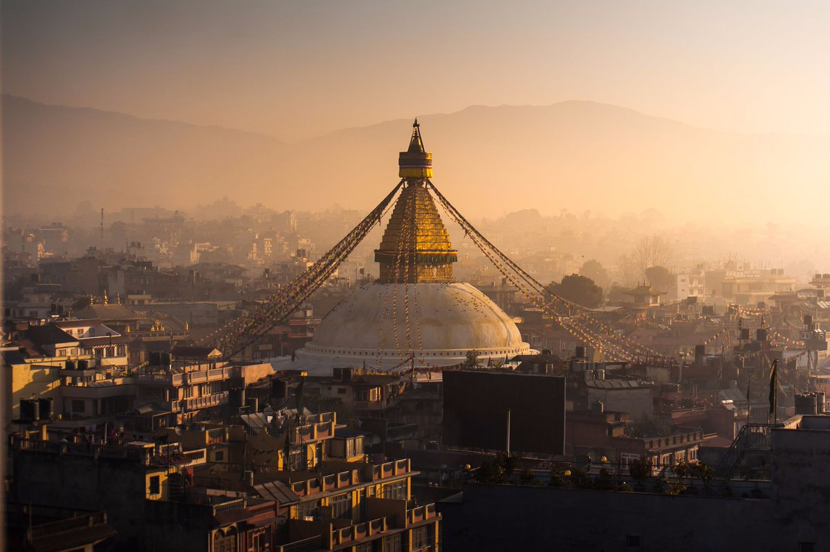 Good morning, Kathmandu. #Nepal https://t.co/qeuBPO03j8 https://t.co/16xpup3mLp