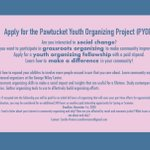 Image for the Tweet beginning: Pawtucket Youth Organizing Project (PYOP)  Gain