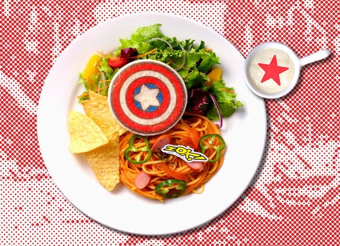 「MARVEL」カフェが表参道に限定オープン 『スパイダーマン』『アイアンマン』…憧れヒーローがメニュー化#MARVEL #カフェ▼写真・記事詳細はこちら
