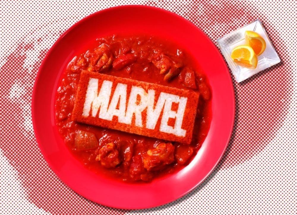 「マーベル」の限定カフェが東京・表参道に、『スパイダーマン』サンドウィッチなど劇中メニューを再現 -