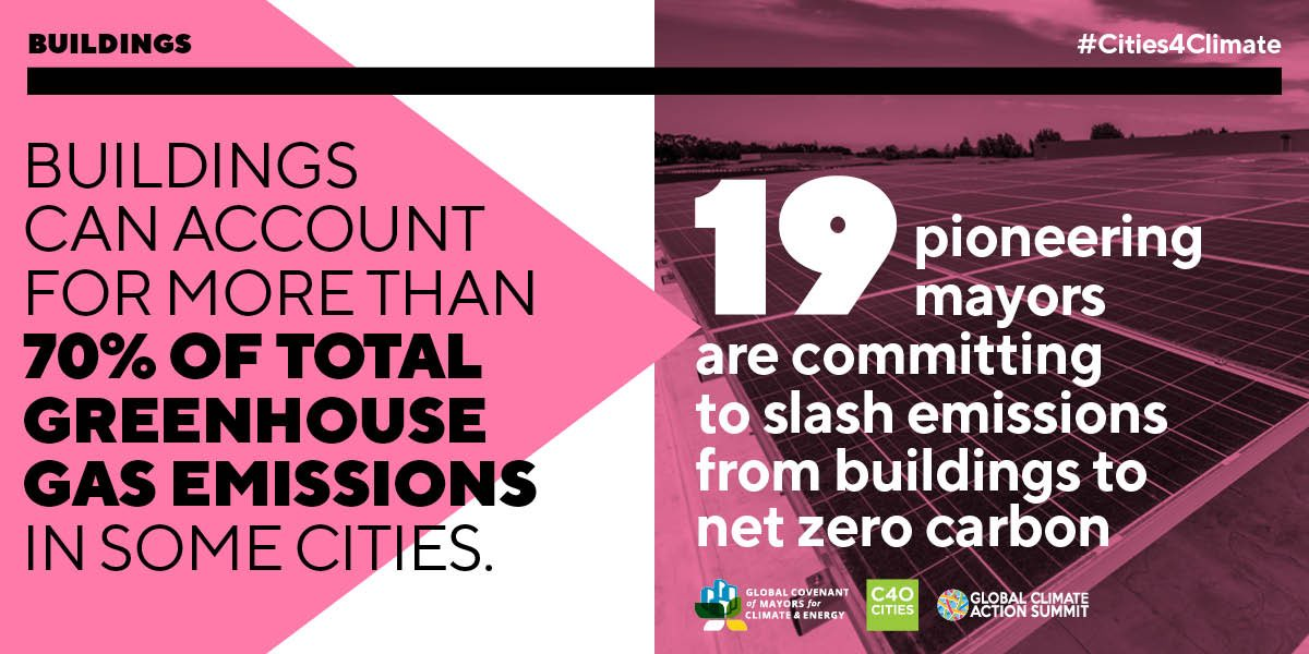 #Democrats will set a bold, national goal of achieving net-zero greenhouse gas emissions for all new buildings by 2030, on the pathway to creating a 100 percent clean building sector.  #DemPartyPlatform  #CleanBuilding 16/19