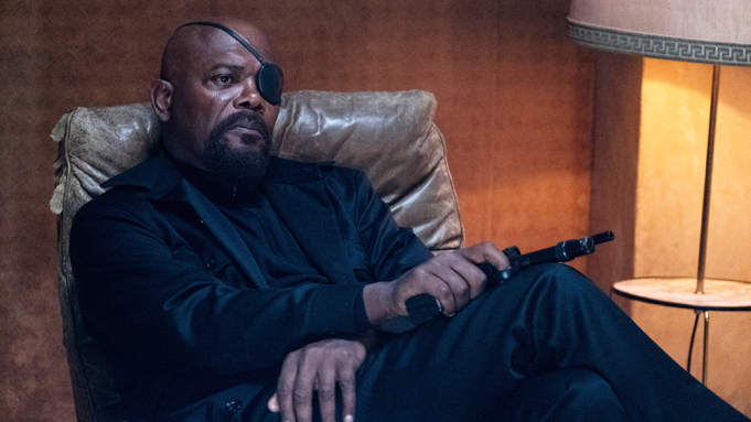 Not much is known, but we do know a #NickFury series is being created for #Disney+! https://t.co/Eq2U2KLvsi https://t.co/4uLnTCxbe4