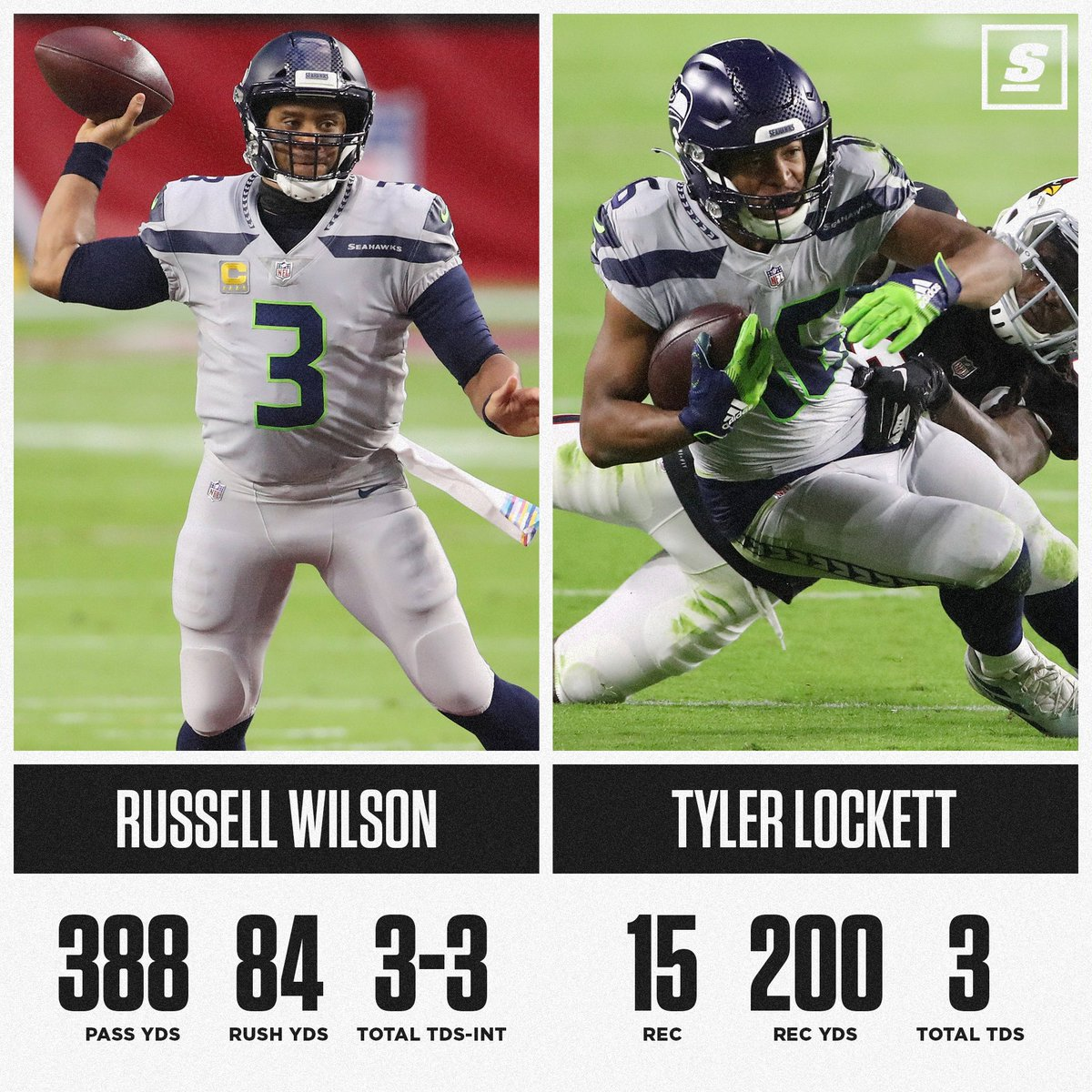 @theScore's photo on Russell Wilson
