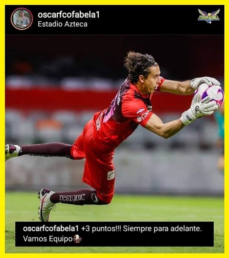 Oscar Jiménez manda mensaje en sus redes sociales luego de la victoria de ayer.  #VamosAmérica https://t.co/2w76rnxefK