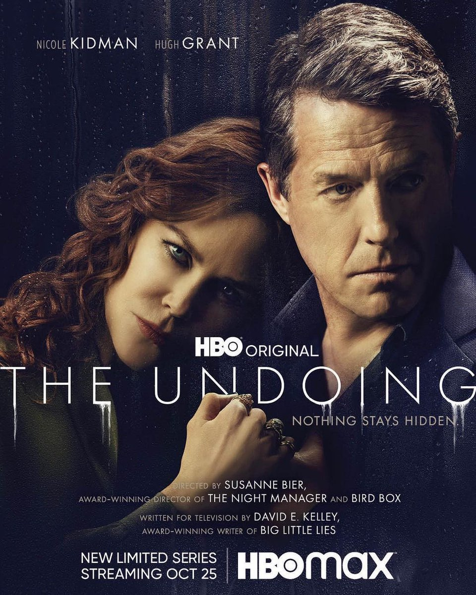 there's nothing like a thriller -  who did it? What is going on???? addictive excellence !!!!! Congrats to you baby - and all the incredible cast !!!!!!! #TheUndoing https://t.co/HbBtbMW8Jy