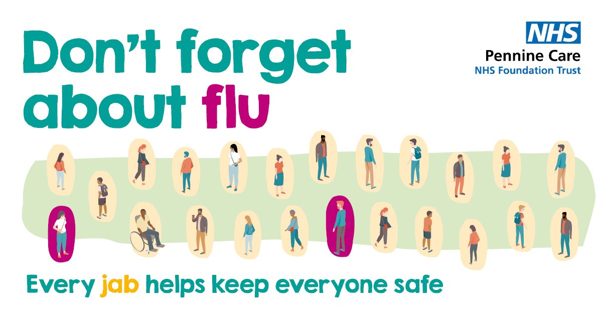 That's 100% of the comms team with a flu jab this year. Have you done your bit? @PennineCareNHS #PennineCarePeople #DontForgetFlu #NHScomms https://t.co/Ka3BDAPtUq
