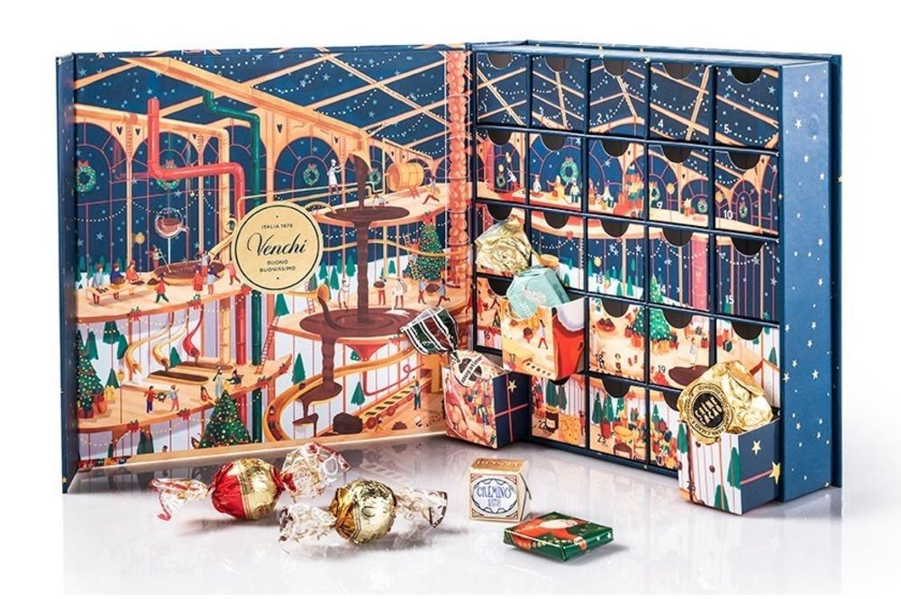 """ヴェンキの2020年クリスマスチョコ、""""チョコレート工場""""着想のアドベントカレンダーなど -"""