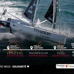 Image for the Tweet beginning: 🚨PROJETS @ESF_ONG  Le @VendeeGlobe est