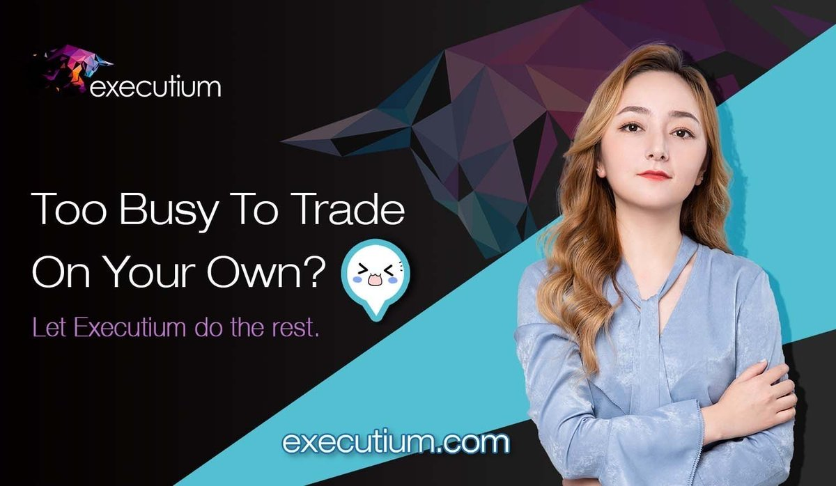 Eyeing the #markets all day is such a luxury!  Executium provides you the best #arbitrage experience with the help of #trading bots and connects you to the world's best #exchanges. @binance @bitfinex @Bitstamp @BittrexExchange @krakenfx @HuobiGlobal  #btc #eth #aggregatedtrading https://t.co/m8fc1h0a3q