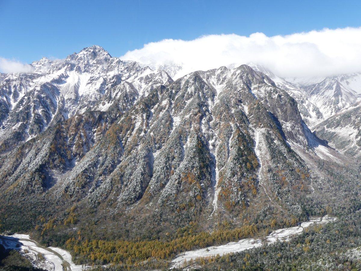 先週県内では6件(10月18日の遭難1件含む)の山岳遭難が発生しました。県内の標高の高い山では、既に積雪があり、厳しい寒さとなっています。北アルプス等の山域では、多くの山小屋が今季の営業を終了し、小屋閉めになります。事前に営業期間やテント設営等について確認しましょう。 https://t.co/4db8ZHiRsh