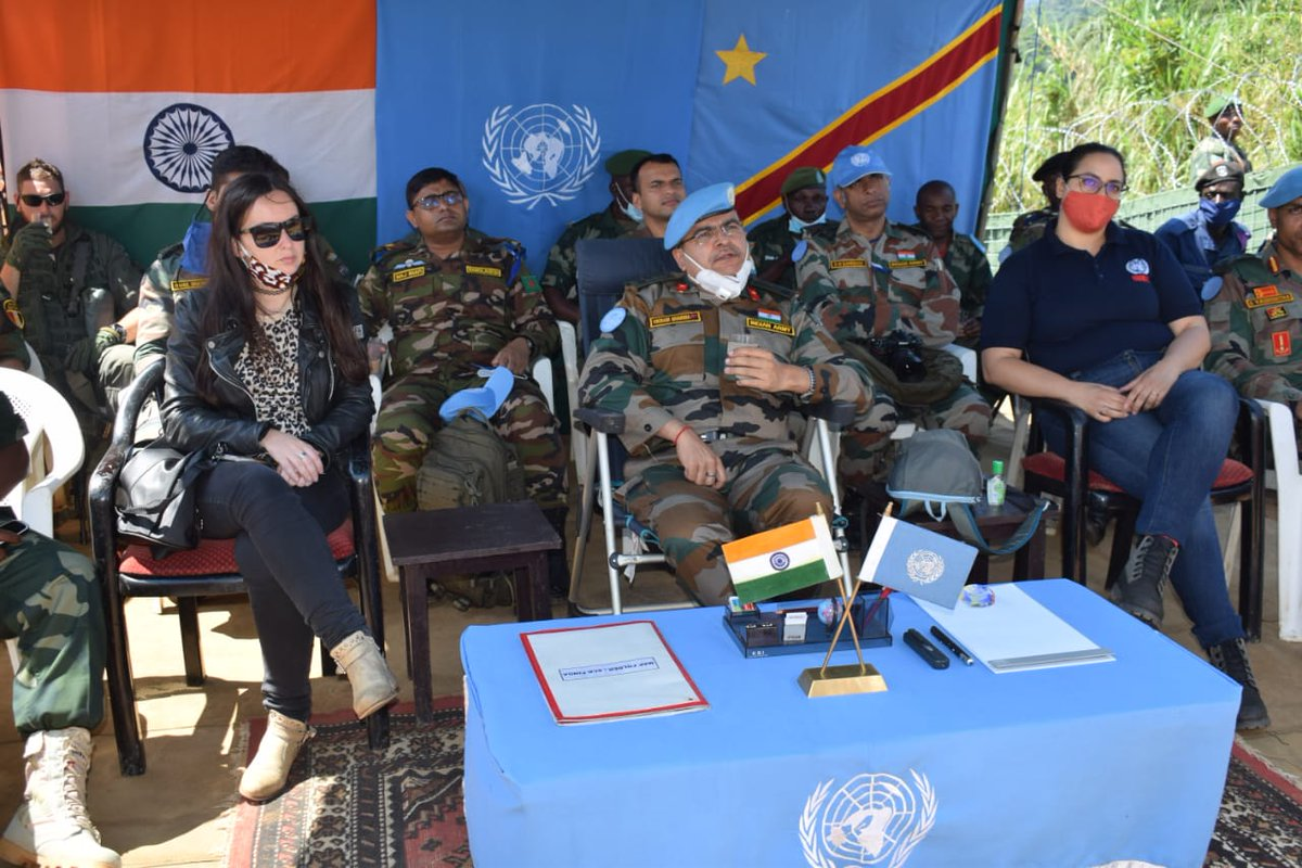 RT @MonuscoF: Pinga and Lukweti, North Kivu, DR Congo, On 24 Oct 2020. Brig Gen Vikram Sharma Commander Central Sector with a MONUSCO delegation visited Pinga and Lukweti in North Kivu Province to assess the security situation and conditions of the local… https://t.co/CH0m0r6CEk