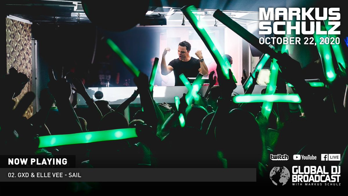 """""""Sail"""" as supported by @MarkusSchulz is out now 🙌😁   https://t.co/TfdT6ieojt  Thanks to Markus & you all who have already grabbed a copy 🙏  @ElleVeeMusic @AVARecordings @BlackHoleRec @coldharbourrec  .  #markusschulz #gdjb #gxd #ellevee #asot #avarecordings #trancefamily https://t.co/e2fgSj0ZZa"""