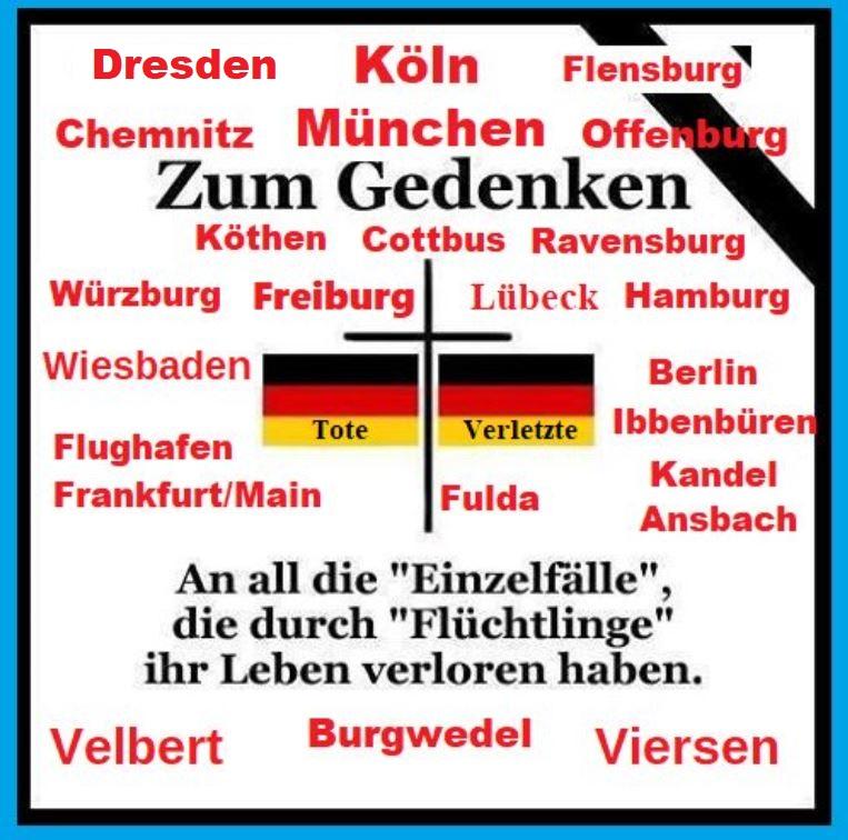 @Tinimaus1110 @SZ_TopNews Die verantwortlichen sitzen in der Bundesregierung. Merkel, Steinmeier und Maas haben großen Schaden für Deutschland generiert. Die Schäden sind so nachhaltig, dass Generationen bluten müssen. Im Brüssel- Antifa- und EKD-Wahn haben diese Anti-Deutschen den Bürger stigmatisiert. https://t.co/F723omfqXU