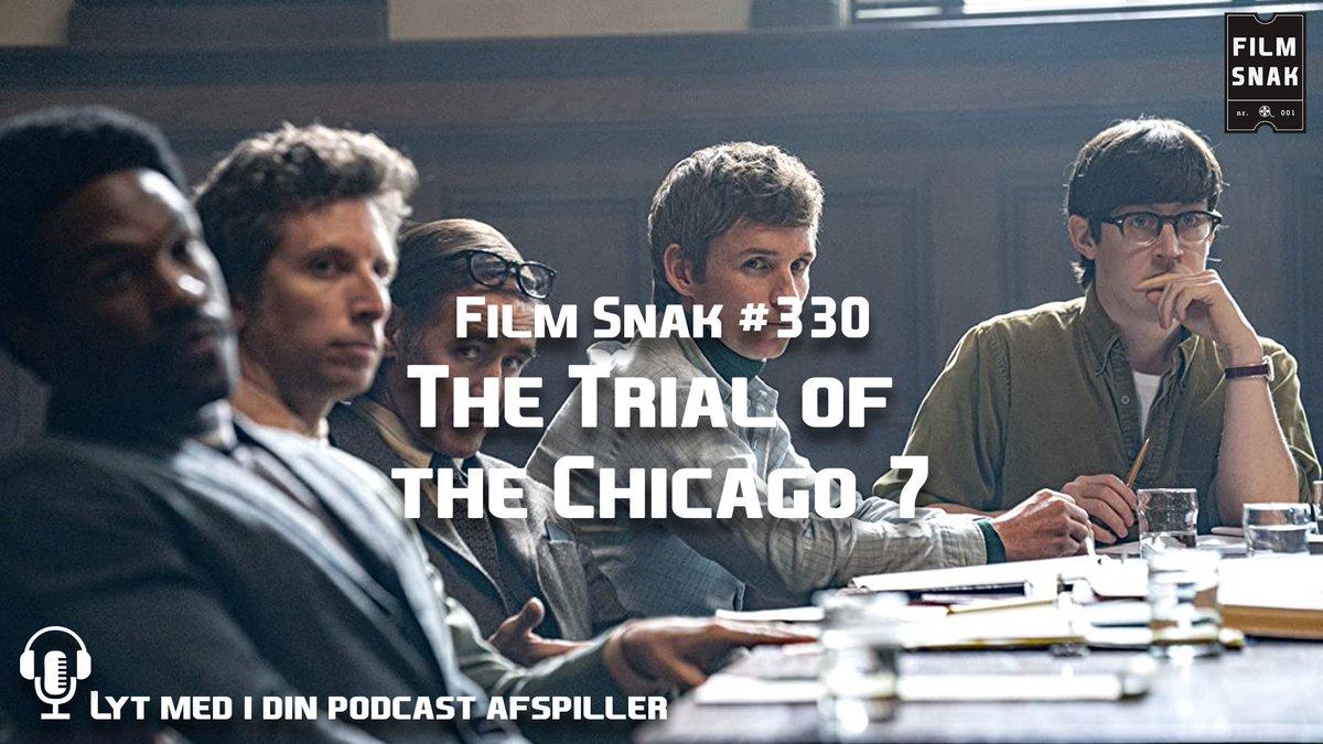 Vi anmelder i dette afsnit Aaron Sorkin filmen The Trail of the Chicago 7, der er den nyeste store Netflix udgivelse. Derudover snakker vi om Efterforskningen, Borat Subsequent Moviefilm, Lovecraft Country og meget mere. Lyt med!  Hjemmeside: https://t.co/DFXcQ9fgXR https://t.co/VRKWYMIOvl