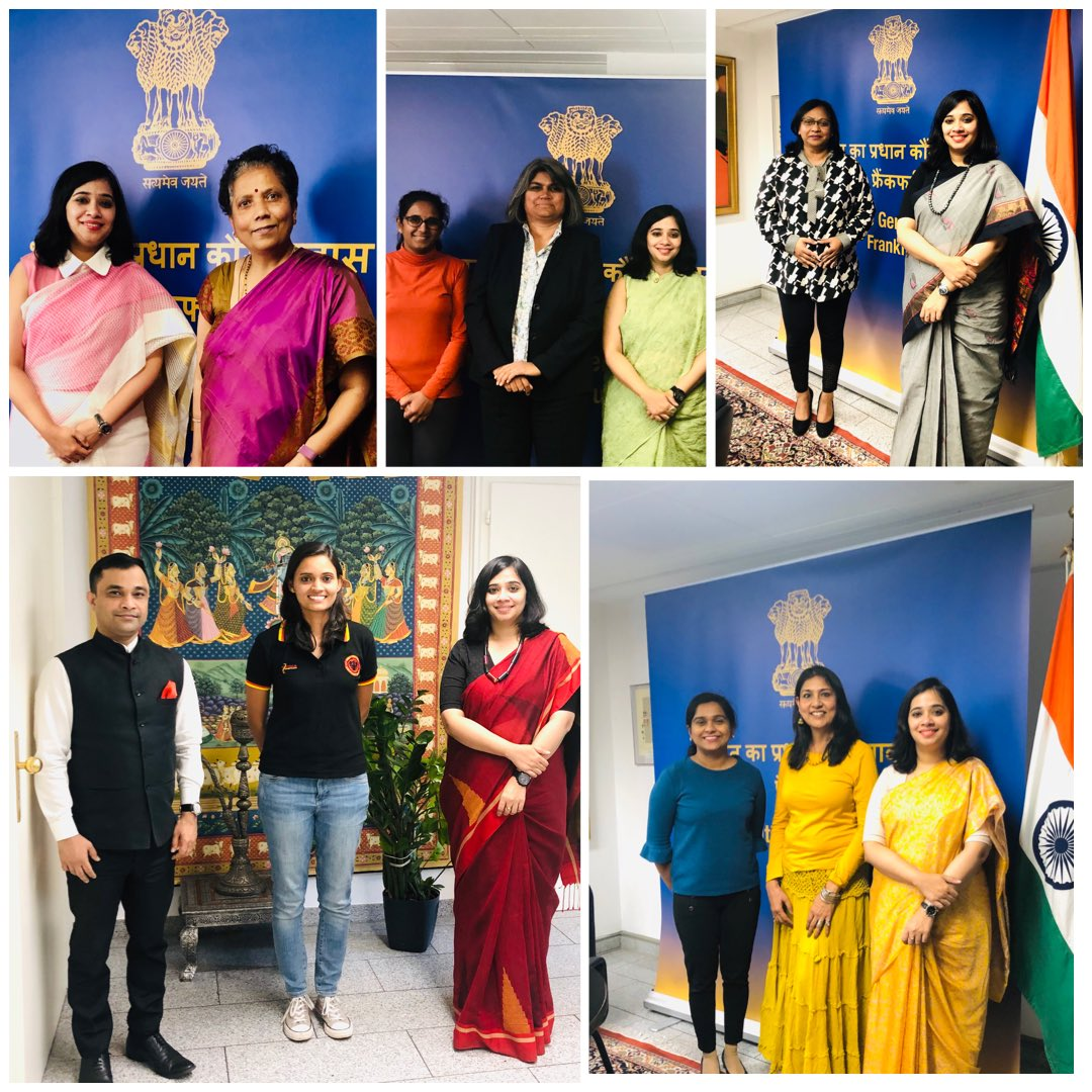 Concluding the series  Let's Connect: 9 #Women, 9 #SuccessStories  @CGIFrankfurt thanks participants & viewers for this tribute to the #Shakti in every #woman. 🙏🙏  @DrSJaishankar @HarshShringla @MinistryWCD @MinOfCultureGoI @ICCR_Delhi @MEAIndia @eoiberlin @AmitTelang12 https://t.co/5LBWETVUln