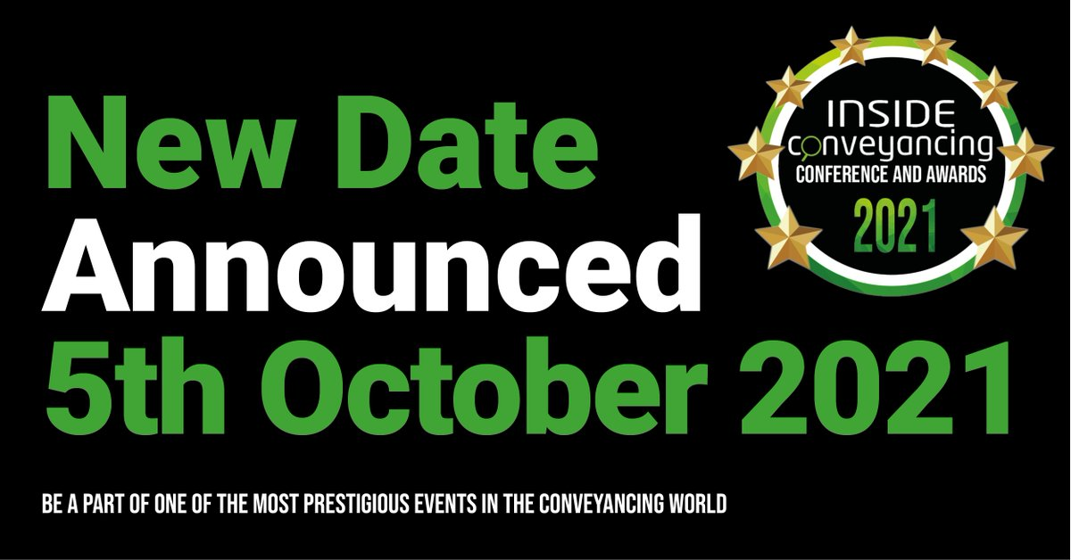 New date from our friends at @InsideAwards