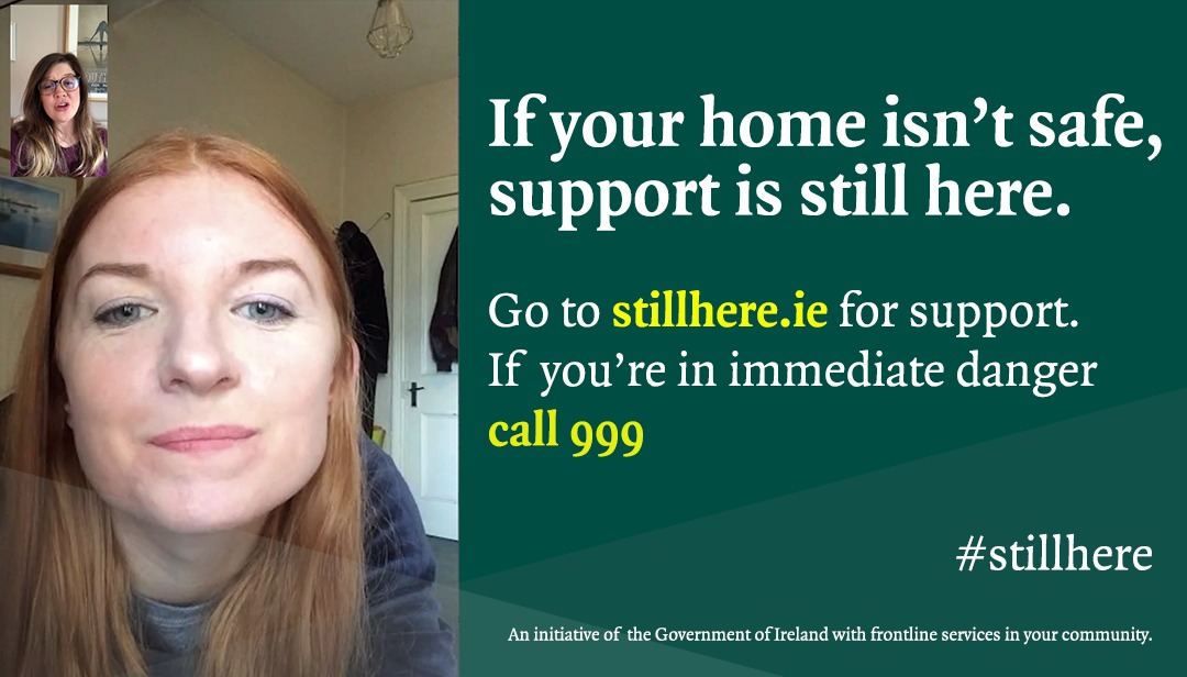 🔔 UPDATE: Supports for victims of domestic violence and sexual abuse are #Stillhere during Level 5 Lockdown.  🚔 Gardaí are continuing to pursue abusers and protect victims of domestic abuse.   ℹ️ For information on services near you visit https://t.co/FBOtr3ujXC @gardainfo https://t.co/wGbH4CHKO8