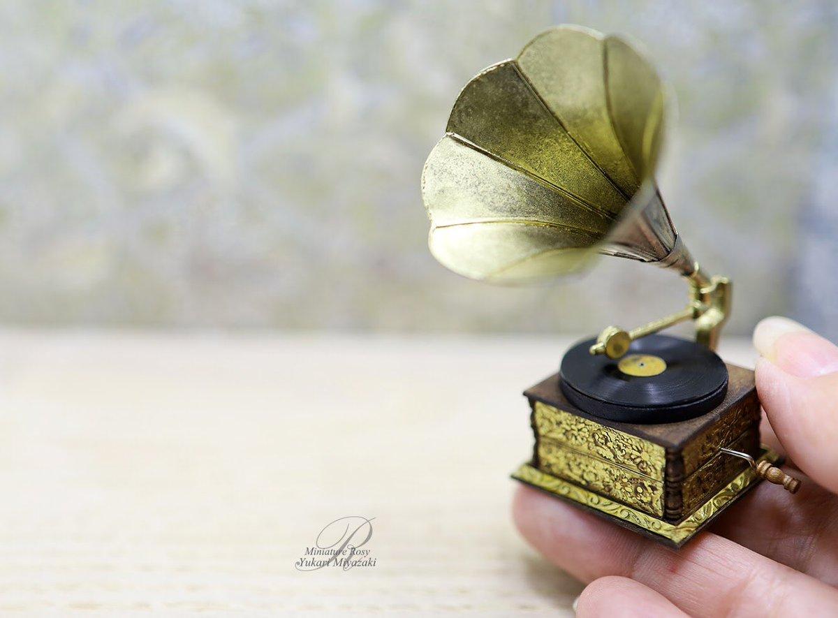 アンティーク蓄音機 作りましたHow to make Phonograph